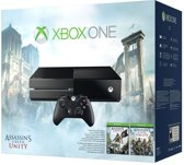 Microsoft Xbox One 500Gb Console + 1 Wireless Controller + Assassin's Creed Unity + Assassin's Creed IV: Black Flag + Kinect Sensor 2.0 - Zwart Xbox One Bundel