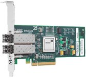 HP StorageWorks 42B - Host bus adapter - PCIe low profile - 4Gb Fibre Channel (SW) - fibre optic - 2 ports - for ProLiant DL120 G7, DL165 G7, DL360 G7, DL380 G7, DL580 G5, SL160s G6