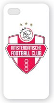Ajax Iphone 5 cover wit rood wit