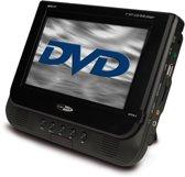 Caliber MPD177 - Portable DVD-speler met ingebouwde accu , oordopjes en hoofsteun tasjes - Zwart
