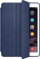 Apple Smart Case - Flip cover for tablet - leather - midnight blue - for iPad Air 2