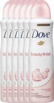 Dove Beauty Finish Women - 150 ml - Deodorant Spray - 6 stuks - Voordeelverpakking