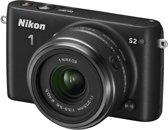 Nikon 1 S2 + 11-27.5 mm - Systeemcamera - Zwart