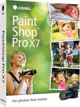 Corel PaintShop Pro X7 (17) - Nederlands/ Frans/ DVD