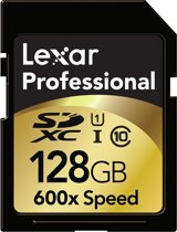 Lexar SDXC Card            128GB 600x Professional UHS-I