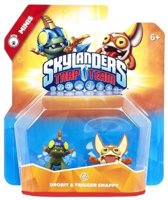 Skylanders Trap Team - Mini Pack - Drobit & Trigger Snappy (Wii + PS3 + Xbox360 + 3DS + Wii U + PS4 + Xbox One)