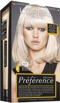 L'Oreal Paris Preference 10.21 Stockholm - Haarkleuring