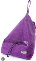 The Book Seat Purple/Aubergine Book/Ipad/E-Reader Holder