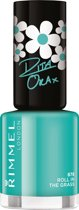 Rimmel London 60 seconds supershine nailpolish Rita Ora Collection - 878 Roll In The Grass - Nagellak