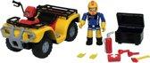 Brandweerman Sam Brandweerquad Mercurius - Speelset