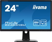 24i LED LCD 1920x1080 250cd/m*2 13cm Height Adj. Stand >12mln:1 ACR Speakers VGA DVI DisplayPort USB-HUB 2ms Speakers TCO6