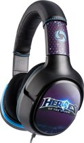 Turtle Beach Ear Force Blizzard Heroes Of The Storm Wired Stereo Gaming Headset - Zwart/Paars (PC + Mac + Mobile)