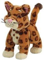 Dora pluche beanie knuffel Baby Jaguar 14cm
