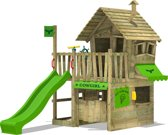FATMOOSE Speelhuisje CountryCow Maxi XXL met glijbaan