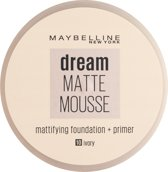 Maybelline Dream Matte Mousse - 10 Ivory - Foundation