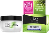 Olaz Anti-Wrinkle Sensitive - 50 ml - Nachtcrème