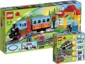 LEGO DUPLO Voordeelbundel - Mijn Eerste Treinset 10507 + Trein Accessoires Set 10506