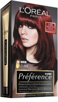L'Oreal Feria Preference 3.66 Pure Plum - Haarkleuring