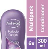 Andrélon perfecte puntjes  - 300 ml - conditioner - 6 st - voordeelverpakking