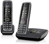 Gigaset C530A - Duo DECT telefoon met antwoordapparaat - Zwart