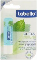 Labello Pure & Natural Munt & Mineralen Blister