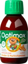 Optimax Kinder D + Multi vloeibaar - 125 ml - Vitaminen