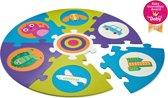 Safe and Fun Playmat! City - Ronde puzzelmat