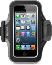 Belkin SlimFit Sportarmband voor de iPhone 5/5s en 5c - Zwart