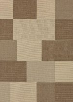 (In/Outdoor) Vloerkleed 20658-860 Brown-Beige 160x220 cm