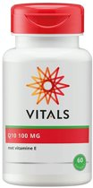 Vitals - Co-enzym Q10 100mg - 60 softgels - Voedingssupplement