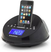 AudioSonic CL-1460 - Wekkerradio met iPod docking - Zwart
