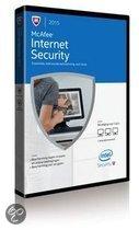 Internet Security 2015 - 1 User eCard - niet los verkrijgbaar