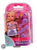Simba Evi popje my favorites met haarborstel