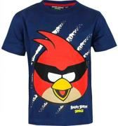 Angry Birds T-shirt Space Blauw-Maat: 116/122