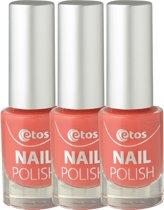 Etos Nailpolish 018 - Sweet Red - Rood - 3 stuks - Nagellak