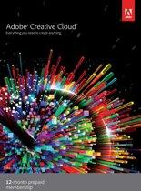 Adobe Creative Cloud Individual Edition - Engels / 1 Gebruiker / 1 Jaar / PC / Mac