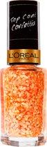 L'Oréal Paris Le Vernis Top Coat - 927 Splash Peach - Nagellak