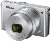Nikon 1 J4 + 10-30 mm - Systeemcamera - Zilver