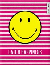Smiley 'Catch Happiness' schoolagenda 2015-2016