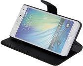Gecko Covers Wallet Case voor Samsung Galaxy A7 - Zwart