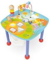 houten speelgoedtafel met diverse activiteiten Boikido