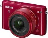 Nikon 1 S2 + 11-27.5 mm - Systeemcamera - Rood
