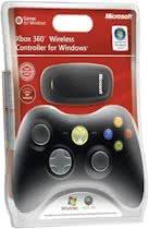 Microsoft Draadloze Controller Zwart Xbox 360 + PC