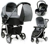 4Baby - Atomic Kinderwagen incl. Autostoel - Grey