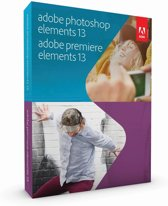 Adobe Photoshop en Premiere Elements 13 - Engels/ Windows/ Mac / DVD