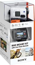 Sony HDR-AS200VB met Wi-Fi en GPS - Action Camera - Bike Kit