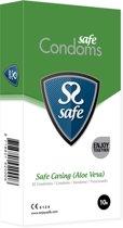 Safe Caring Aloe Vera - 10 stuks - Condooms