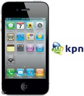 KPN Prepaidpakket: Apple iPhone 4 Pre-owned - Zwart