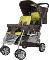 X-Adventure - Tandem buggy - Antraciet/lime