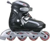 Nijdam Junior Inlineskates Junior Verstelbaar - Semi-Softboot - Maat 27-30